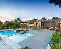 pool design ideas renovations u0026 photos with a pool house