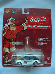Coca Cola Christmas Ornaments - johnny lightning coca cola 1966 volkswagen beetle holiday