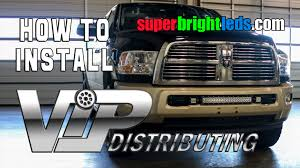 Led Light Bar Truck How To Install Led Curve Light Bar Aux Lights On Truck Youtube