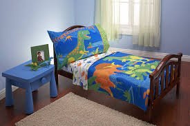 Comforters For Toddler Beds Amazon Com Everything Kids 4 Piece Toddler Bedding Set