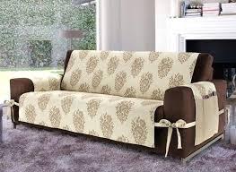 Plastic Sofa Slipcovers Living Room Transitional White Ikea Karlstad Sofa Cover In Linen