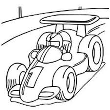 coloring breathtaking car colouring pages race