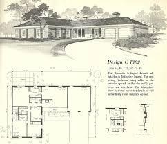 l shaped bungalow floor plans baby nursery mid century floor plans mid century style floor