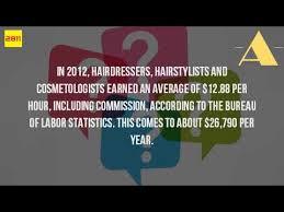 hair stylist salary 2015 how much does a hair stylist make an hour youtube