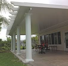 insulated aluminum patio cover kit home outdoor decoration