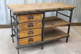 kitchen island vintage industrial reclaimed pine kitchen island vintage
