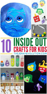 inside out crafts for kids evolution activities and movie