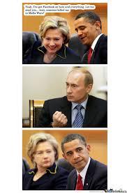 Obama Putin Meme - obama vs putin by recyclebin meme center