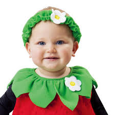 Strawberry Baby Halloween Costume Totally Ghoul Strawberry Vest Infant Halloween Costume Size 1t 2t