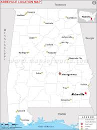 Map Of Usa With State Capitals by Where Is Abbeville Located In Alabama Usa