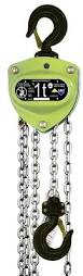 hand chain hoists ma series all material handling