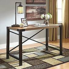 wood and metal writing desk rustic wood and metal desk rustic writing desk wood metal office
