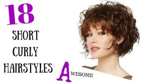 haircuts for curly hair awesome short curly hair styles youtube