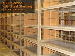 Industrial Metal Bookshelf Used Industrial Metal Shelving Steel Shelving