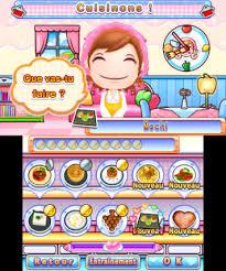 jeu de cuisine cooking cooking bon appé test 3ds insert coin