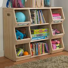 Land Of Nod Bookshelf Furniture Home Simple Green Roof And White Sections For Appealing