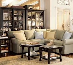 Pottery Barn Livingroom Decorating Pottery Barn Living Room With Small Coffee Table On