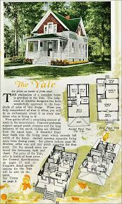 small retro house plans the yale kit house floor plan made by the aladdin company in bay