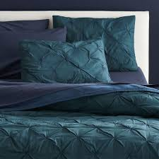 Duvet Cover Teal Modern Bedding Sheets Sets And Duvet Covers Cb2
