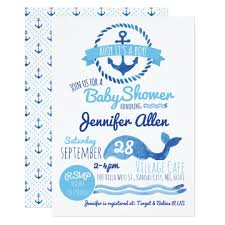 baby boy baby shower invitations ahoy it s a boy baby shower invitation zazzle