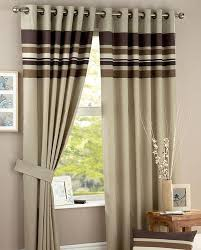 Chocolate Curtains Eyelet Harvard Ready Made Curtain Chocolate Harvard And Contemporary