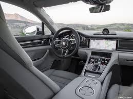 2018 black porsche panamera 2018 porsche panamera turbo s e hybrid sport turismo interior