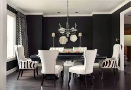 Zebra Dining Room Chairs Decorative Plates On The Wall Of The Dining Room Small Design Ideas