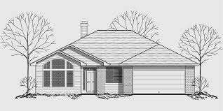 house plans one level single level house plans ranch house plans 3 bedroom house plan