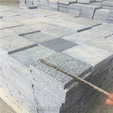 Granite Patio Pavers Flamed G654 Granite Cube G654 Granite Walkway Pavers