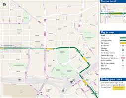 Chicago Bus Routes Map by Capitol Rice Street Station Metro Transit