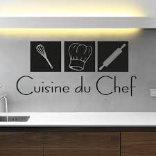 sticker pour cuisine stickers muraux pour la cuisine sticker cuisine du chef