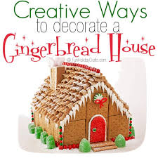 creative ways to decorate a gingerbread house for the holidays
