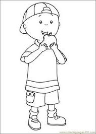 caillou coloring picture coloring book caillou
