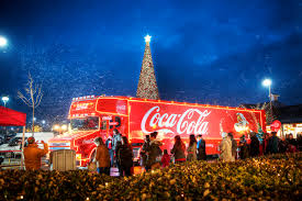 coca cola truck at cheshire oaks featured in the chester c u2026 flickr