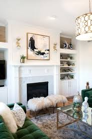 Fall Living Room Ideas by Dark Green Sofa Living Room Ideas One Room Challenge Fall Dark