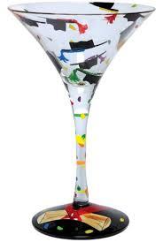 graduation wine glasses graduation martini glass by hula island
