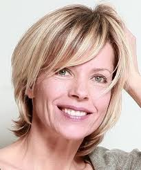 short hairstyles over 50 layered haircut for women over 50
