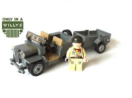 wwii jeep willys lego willys jeep review moc youtube