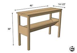 Standard Sofa Length by Standard Sofa Table Dimensions Mesmerizing Sofa Table Dimensions