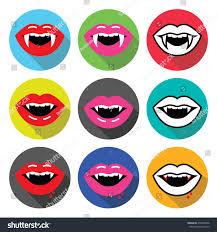 spirit halloween vampire fangs vampire mouth vampire teeth vector flat stock vector 276328496