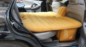 wow i want this inflatable car mattress