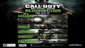 rezurrection map pack cod black ops zombies rezurrection map pack swamp gameplay