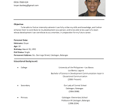 resume for graduate school exle graduate student cv format students resume curriculum vitae