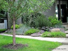 calgary garden coach a low maintenance front yard garden in calgary