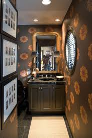 Wallpaper Bathroom Designs by 31 Best Powder Room Wallpaper Images On Pinterest Room Bathroom