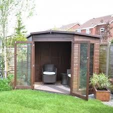 Garden Summer Houses Corner - barclay corner summer house