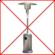 Patio Heater Gas Bottle by Electric Patio Heaters Are The Best Choice Over Gas Patio Heaters