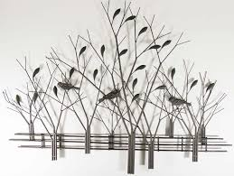 Metal Tree Wall Decor September Tree Wall Art Metal Sculpture Metal Decor Blog Stodiefor