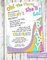 oh the places you ll go baby shower baby shower invitation cards who do you invite to a baby shower