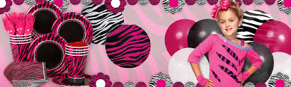 leopard print party supplies zebra party ideas animal print party guide at birthday in a box